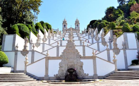 Bom Jesus do Monte, Braga - Portugal.