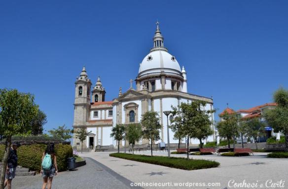 Santuário de Nossa Senhora da Conceição do Sameiro, Braga, Portugal.