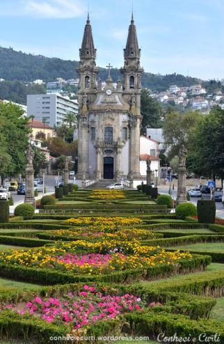 Igreja de São Gualter, ou Igreja de N. Sra da Consolação e Santos Passos, Guimarães - Portugal.