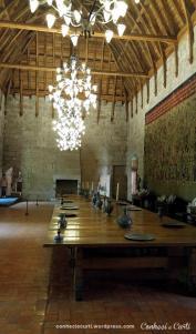 Paço dos Duques, Guimarães - Portugal. Salão de Banquetes
