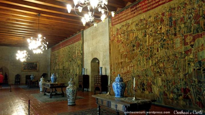 Salão dos Passos Perdidos no Paço dos Duques.