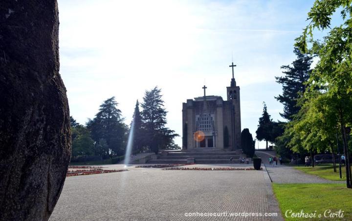 Santuário da Penha em Guimarães, Portugal.