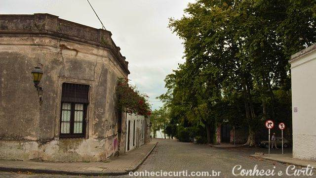 Rua de Colonia del Sacramento, Uruguai.