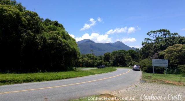 Estrada da Graciosa no Recanto Eng. Lacerda, Paraná.