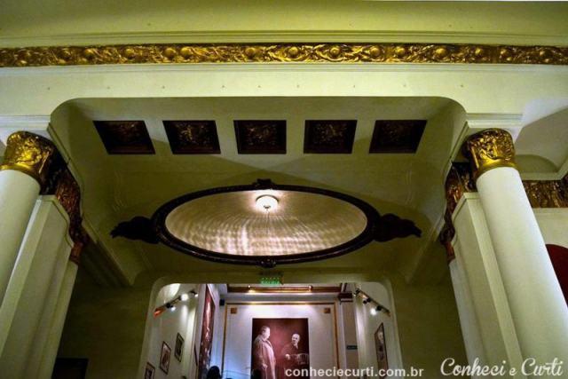 Entrada para a casa de Tango Piazzolla.