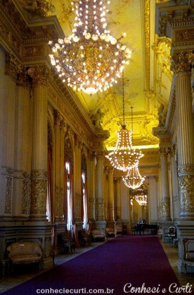 Salão Dourado, Teatro Colón. Buenos Aires, Argentina