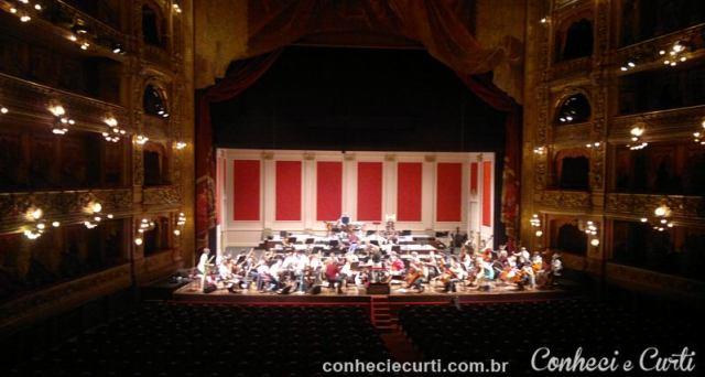 Salão Principal do Teatro Colón em Buenos Aires - Argentina