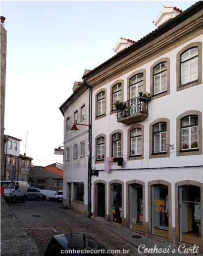 A cidade de Guarda na Serra da estrela, Portugal.