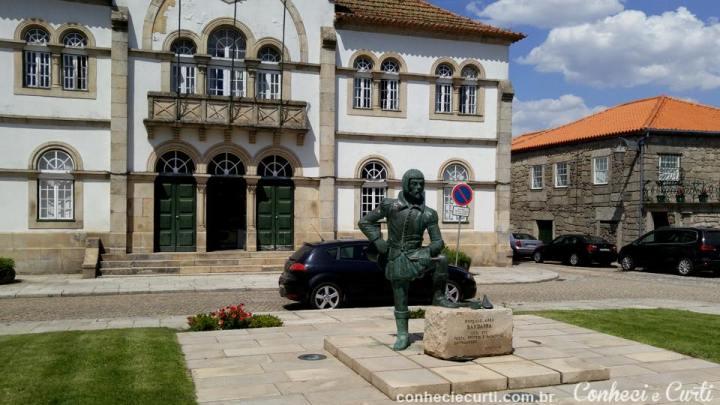 Estátua de Bandarra - Trancoso, Portugal.