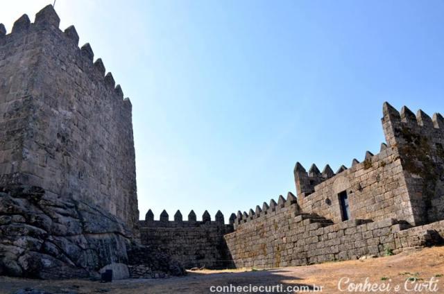 O Castelo de Trancoso.