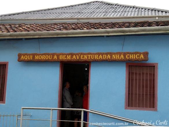 Casa da Nhá Chica em Baependi, MG.