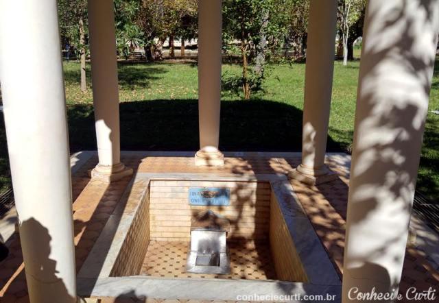 Parque das Águas, fonte D. Isabel e Conde D´Eu