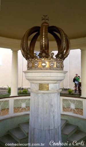 Fonte D. Pedro II no Parque das Águas, Caxambu - MG