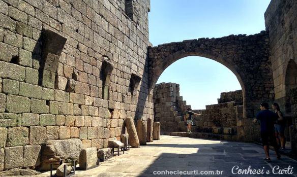 Castelo de Belmonte, Portugal. Aldeias Históricas