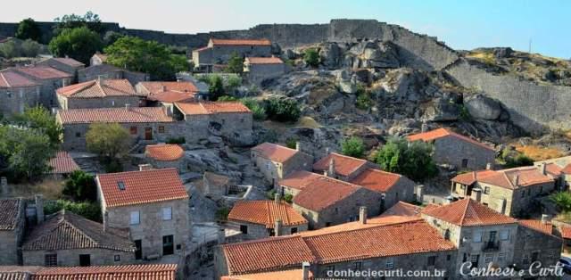 A aldeia de Sortelha.