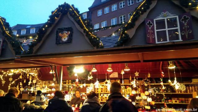 Feira de Natal de Bremen, Alemanha.