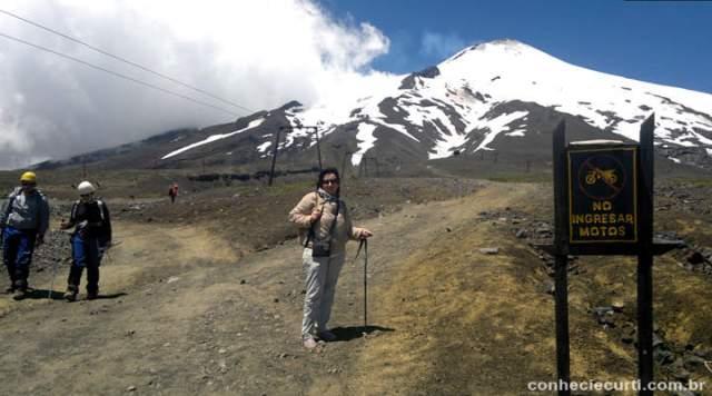 Vulcão Villarrica, Pucón Chile.