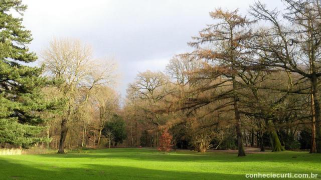 Parque estadual Bürgerpark em Bremen, Alemanha