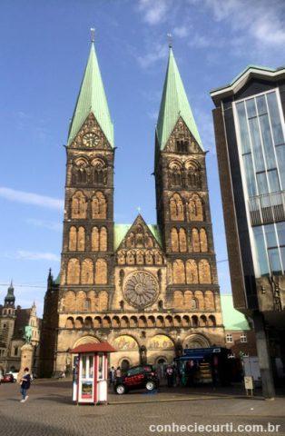 St. Petri Dom, Bremen -Alemanha. A Catedral de São Pedro