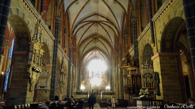 St. Petri Dom. A Catedral de São Pedro, Bremen - Alemanha.