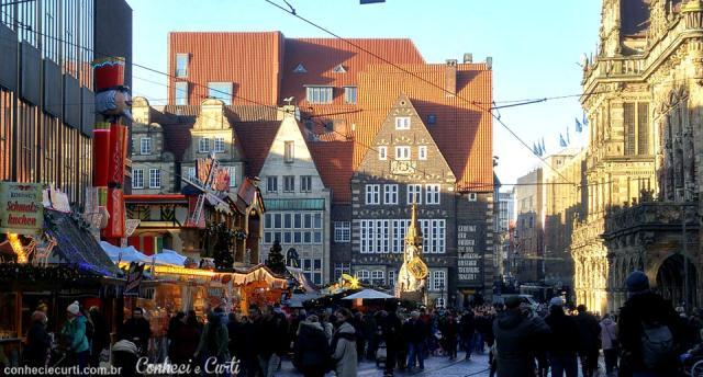 Bremen, Alemanha, Feira de Natal.