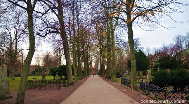 Gamla Kyrkogarden - antigo cemitério, Malmö - Suécia.