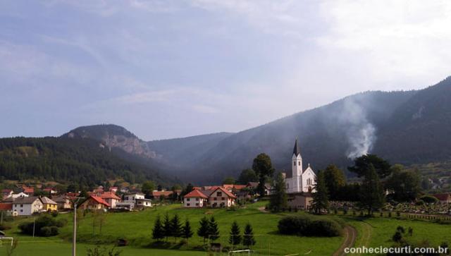 Rodando pela Eslováquia.