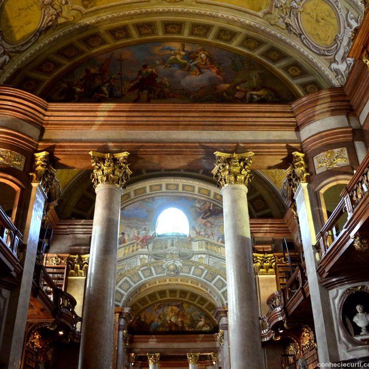 Biblioteca Nacional da Áustria. Conheci e Curti
