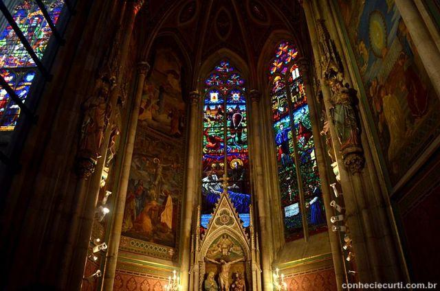 A Votivkirche em Viena.