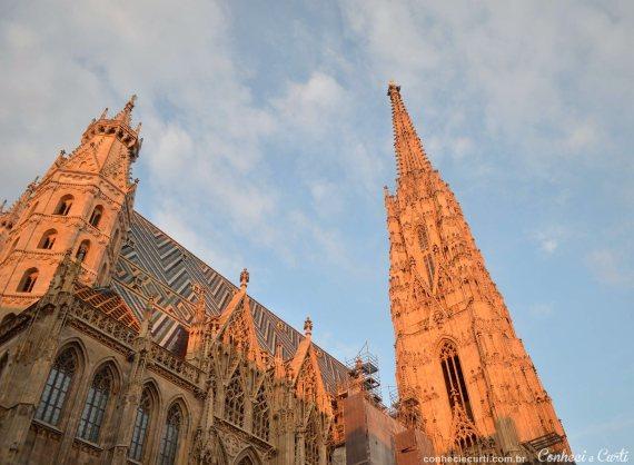 Nosso 1º dia em Viena – Palácio de Schönbrunn e Catedral de São Estevão