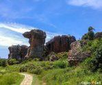 A figura do Camelo, no Parque Estadual de Vila Velha.