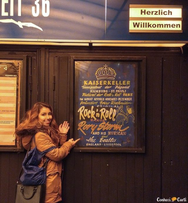 Kaiserkeller, Hamburgo. Onde os Beatles iniciaram em 1960.