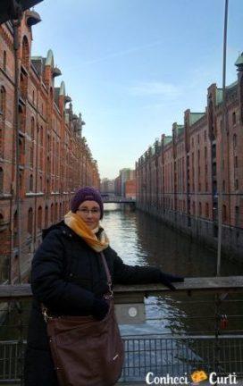 Os canais de Hamburgo.