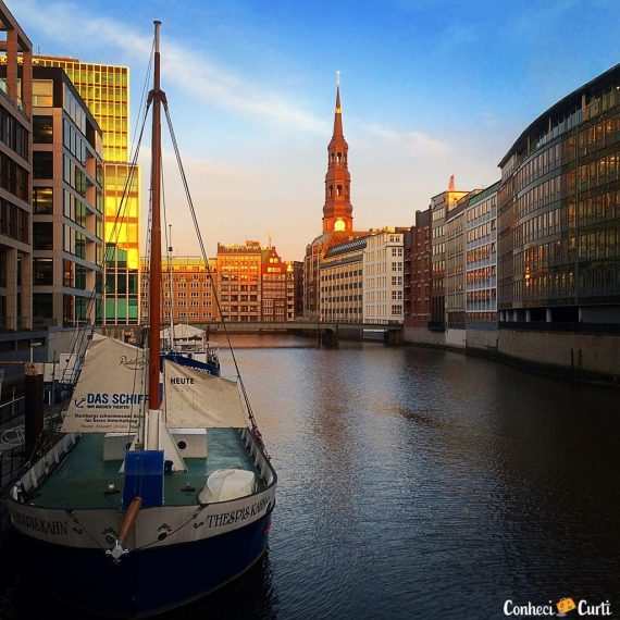 A surpreendente cidade de Hamburgo no norte da Alemanha
