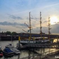Barco bem antigo de Bremen.