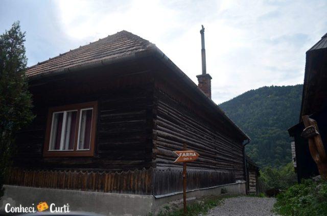 Aldeia de Vlkolínec, Eslováquia