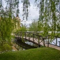 Ponte no castelo de Schwerin