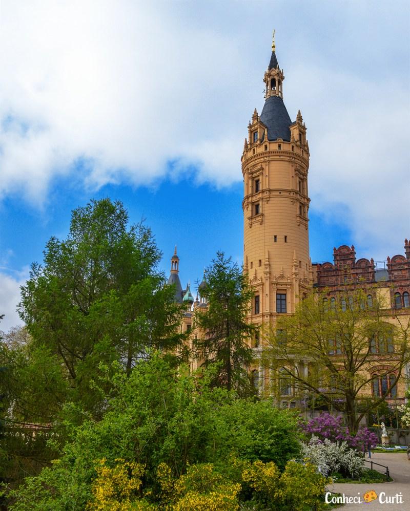 Castelo de Schwerin e Jardim