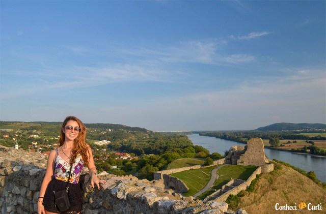 Topo do Castelo Devín, Eslováquia