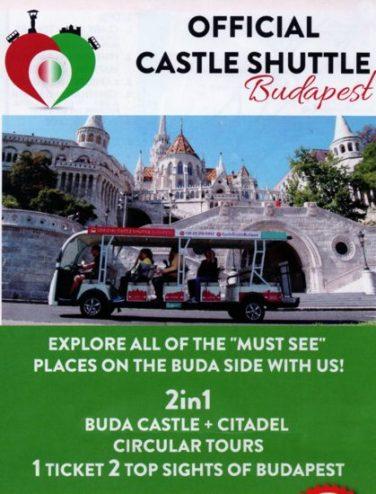 Budapeste - Official Castle Shuttle