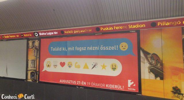 Budapeste - metrô Blaha Lujza