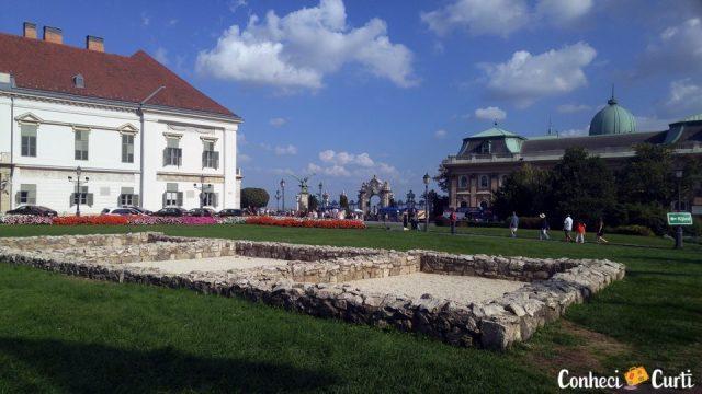 Palácio Presidencial na colina de Buda