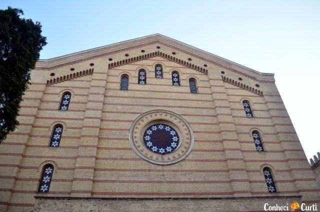 A Grande Sinagoga de Budapeste.