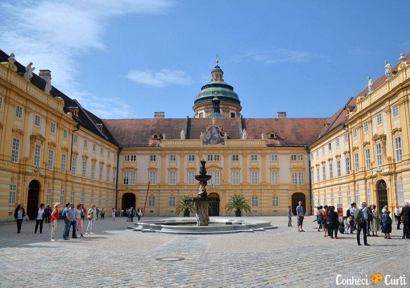 Abadia Melk - Áustria