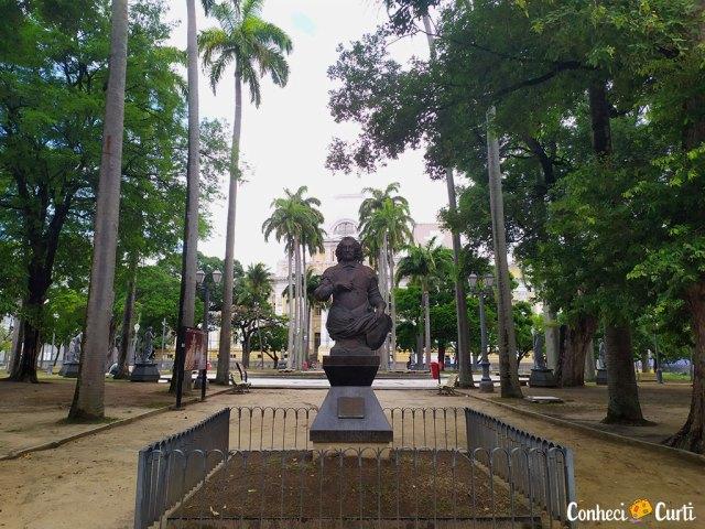 Praça da República em Recife, Pernambuco
