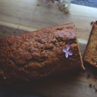 spiced carrot and apple cake