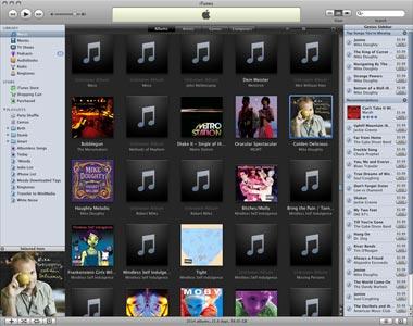 iTunes UI