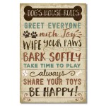 Pallet Sign 12 X 18 Dog S House Rules Conimar Group