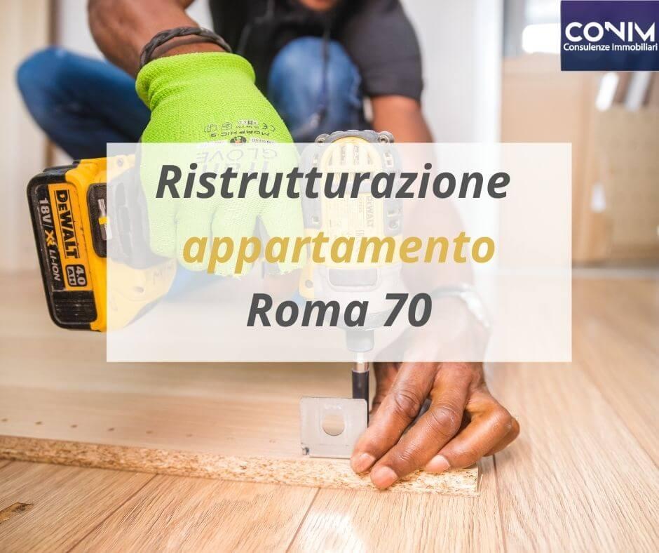 Ristrutturazione appartamento Roma 70
