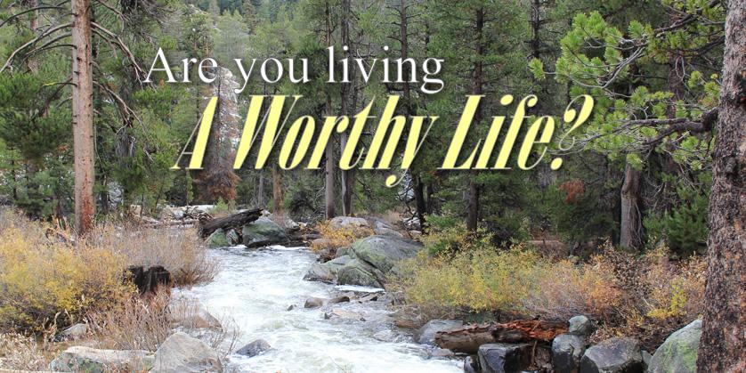 A Worthy Life